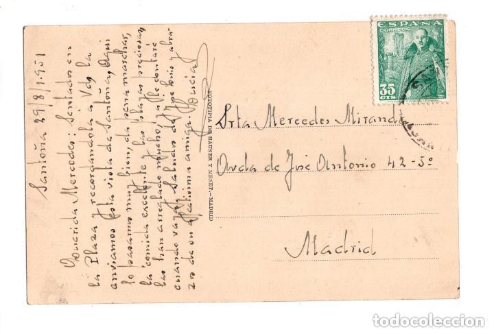 Postales: SANTOÑA.(CANTABRIA).- DESEMBARCANDO LA PESCA - Foto 2 - 146102846