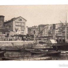 Postales: SANTANDER (CANTABRIA).- MUELLE DE ANAOS 1889.- POSTAL FOTOGRAFICA. Lote 146107082