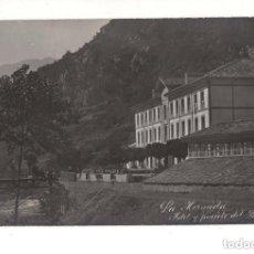 Postales: LA HERMIDA.(CANTABRIA).- HOTEL Y PUENTE DEL BALNEARIO. ALVARO FERNANDEZ-FOTOGRAFO. Lote 146126342