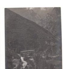 Postales: (CANTABRIA).- PUENTE DE LLES Y GARGANTA DE LOS PICOS DE EUROPA. ALVARO FERNANDEZ-FOTOGRAFO. Lote 146127298