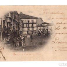 Postales: REINOSA.(CANTABRIA).- PLAZA DE DIEZ VICARIO. Lote 146129974