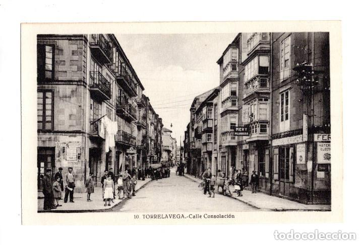 TORRELAVEGA.(CANTABRIA).- CALLE CONSOLACIÓN (Postales - España - Cantabria Antigua (hasta 1.939))