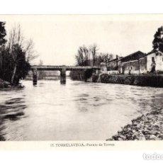 Postales: TORRELAVEGA.(CANTABRIA).- PUENTE DE DE TORRES. Lote 146149302