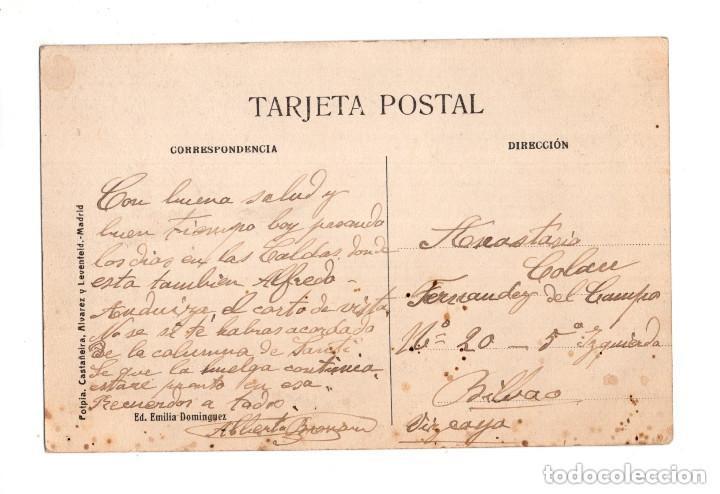 Postales: CALDAS DE BESAYA.(SANTANDER).- GRAN HOTEL CASINO Y JARDÍN - Foto 2 - 146151086