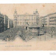 Postales: SANTANDER.- PLAZA DE LA LIBERTAD. Lote 146163658
