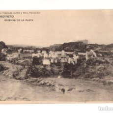 Postales: SANTANDER.(CANTABRIA).- SARDINERO. ESCENAS DE LA PLAYA. LIBRERIA VIUDA DE ALBIRA.. Lote 146165642