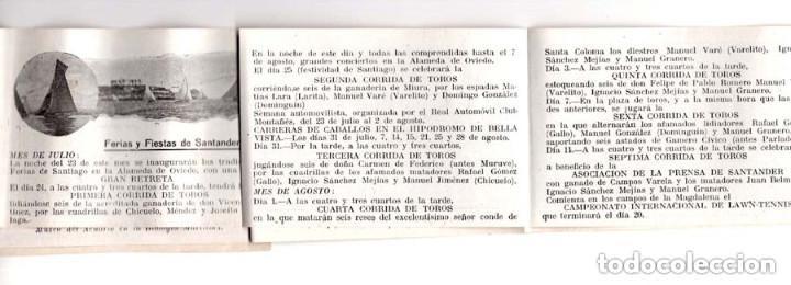 Postales: ALBÚM RECUERDO DE SANTANDER. FERIAS Y FIESTAS. OBSEQUIO DE JOSÉ LAGUILLÓN.JARDINERO - Foto 2 - 146305702