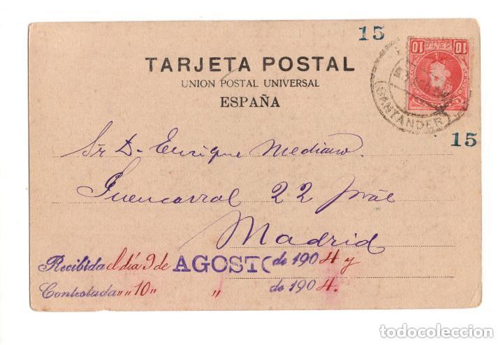 Postales: Nº 2 COLECCION DE POSTALES DE PUENTE VIESGO (CANTABRIA) - Foto 2 - 146351210