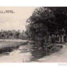 Postales: REINOSA. (CANTABRIA).- PASEO DE VISTA ALEGRE. Lote 146354134