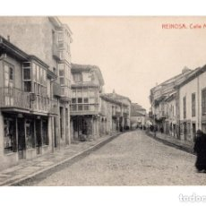 Postales: REINOSA. (CANTABRIA).- CALLE MAYOR. Lote 146354674