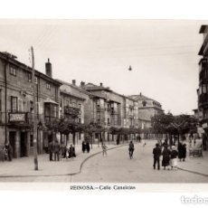 Postales: REINOSA. (CANTABRIA).- CALLE CANALEJAS. Lote 146355278