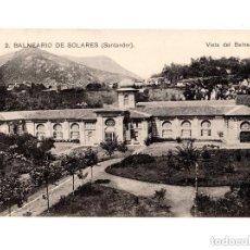 Postales: BALNEARIO DE SOLARES.(SANTANDER).- VISTA DEL BALNEARIO. Lote 146776322