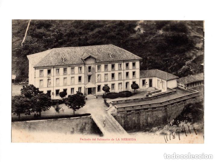 LA HERMIDA.(CANTABRIA).- FACHADA DEL BALNEARIO (Postales - España - Cantabria Antigua (hasta 1.939))