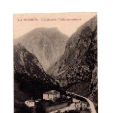 Postales: LA HERMIDA.(CANTABRIA).- EL BALNEARIO VISTA PANORAMICA. Lote 146778786
