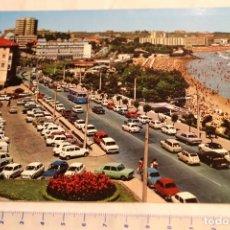 Postales: POSTAL SANTANDER - Nº 160 - SARDINERO, VISTA DE LAS PLAYAS CASTAÑEDA 1ª Y 2ªCOCHES SEAT RENAULT CITR. Lote 146841042