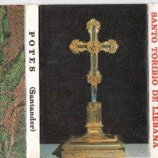 Postales: BLOCK DE 16 POSTALES PEQUEÑO TAMAÑO DE SANTO TORIBIO DE LIEBANA. POTES. Lote 146925898