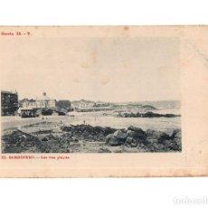 Postales: SANTANDER.(CANTABRIA).- LAS TRES PLAYAS. COLECCIÓN DE LA PUENTE. Lote 146951418