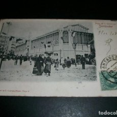 Postales: SANTANDER PLAZA DE LA ESPERANZA REVERSO SIN DIVIDIR. Lote 146961086