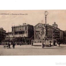 Postales: SANTANDER.(CANTABRIA).- AVENIDA ALFONSO XIII. ED. FUERTES.(RARA). Lote 147020906