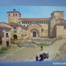 Postales: SANTILLANA MAR SANTANDER COLEGIATA S/C ED DIOCESIS Nº 1 . Lote 147217714