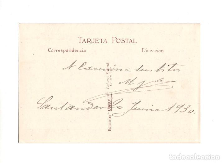 Postales: SANTANDER.(CANTABRIA).- BAHIA Y MUELLES. EDICIONES UNIQUE. POSTAL FOTOGRÁFICA - Foto 2 - 195371035