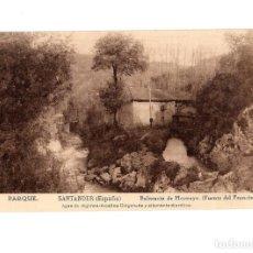 Postales: BALNEARIO DE HOZNAYO.(SANTANDER).- PARQUE. (FUENTE DEL FRANCÉS).. Lote 147340050