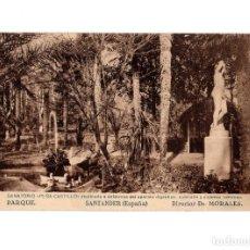 Postales: BALNEARIO DE HOZNAYO.(SANTANDER).- PARQUE. (FUENTE DEL FRANCÉS).. Lote 147340758