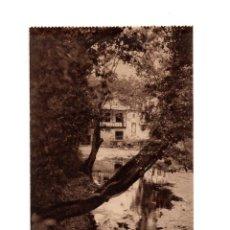 Postales: BALNEARIO DE HOZNAYO.(SANTANDER).- LAGO. (FUENTE DEL FRANCÉS).. Lote 147340886