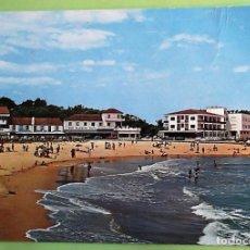 Postales: SUANCES (SANTANDER) 169 PLAYA DE LA RIBERA. A. BUSTAMANTE. USADA. COLOR. Lote 147354221