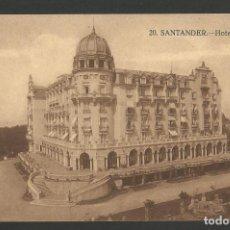 Postales: SANTANDER-SARDINERO-HOTEL REAL-POSTAL ANTIGUA-(56.172). Lote 147381558