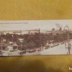 Postales: SANTANDER. AVDA. DE ALFONSO XIII Y BOULEVARD DE PEREDA. POSTAL Nº 19. SIN CIRCULAR. 9 X 29 CM. Lote 147508474