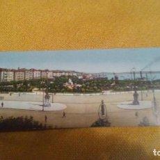 Postales: PANORAMA DE SANTANDER 28 X 9 CM COLOREADA. SIN CIRCULAR. Lote 147512558