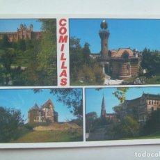 Postales: POSTAL DE COMILLAS ( CANTABRIA ) : VISTAS. Lote 147561222