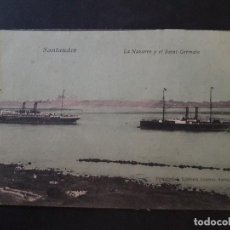 Postales: SANTANDER LA NAVARRE Y EL SAINT GERMAIN. Lote 147579578