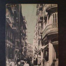 Postales: SANTANDER CALLE DE SAN FRANCISCO. Lote 147580162
