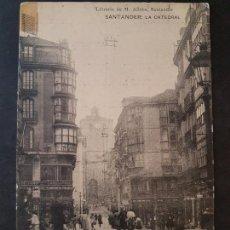 Postales: SANTANDER LA CATEDRAL. Lote 147580250