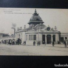 Postales: SANTANDER ESTACION DEL FERROCARRIL DE LA COSTA. Lote 147780214