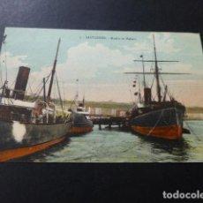 Postales: SANTANDER MUELLE DE MALIAÑO. Lote 147781590