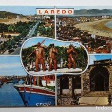 Postales: LAREDO VARIOS ASPECTOS - ED. E. PERSA. Lote 147789066