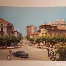 Postales: LAREDO, PLAZA DE CACHUPIN CON GUARDIA TRAFICO. Lote 147848350