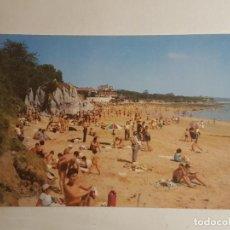 Postales: SANTANDER, PLAYA DE LA MAGDALENA. Lote 147848826