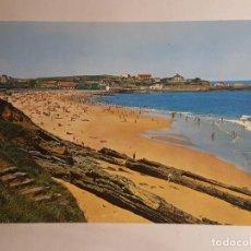 Postales: SANTANDER, PLAYA DE COMILLAS. Lote 147849086