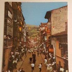 Postales: AMPUERO, EL ENCIERRO. Lote 147851374
