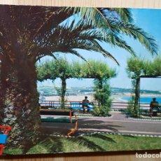 Postales: SANTANDER SARDINERO SEGUNDA PLAYA DESDE PIQUIO. Lote 148050078