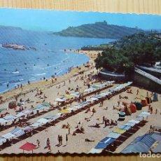 Postales: SANTANDER EL SARDINERO PRIMERA PLAYA Y JARDINES DE LA CONCHA - ED. P. ESPERON. Lote 148050590