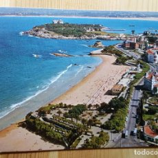 Postales: SANTANDER PLAYA DEL SARDINERO JARDINES DE PIQUIO - FOTO ALSAR. Lote 148055918