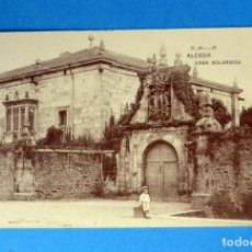 Postales: POSTAL DE ALCEDA: CASA SOLARIEGA. Lote 148096914