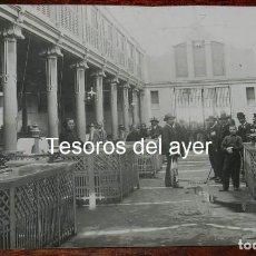 Postales: FOTOGRAFIA DE SANTANDER, LA INAGURACION DE LA PLAZA DEL PESCADO, INAGURACION POR EL ALCALDE SAN MART. Lote 149808898
