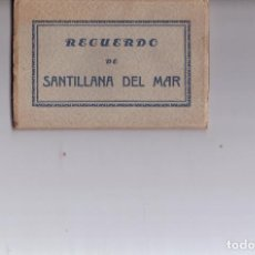 Postales: 10 ANTIGUAS POSTALES DE SANTILLANA DEL MAR. Lote 150023098