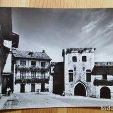 Postales: SANTILLANA DEL MAR PLAZA DE ISABEL Y CASA DE LOS BORJA Nº 6 ED. DOMINGUEZ. Lote 150866070
